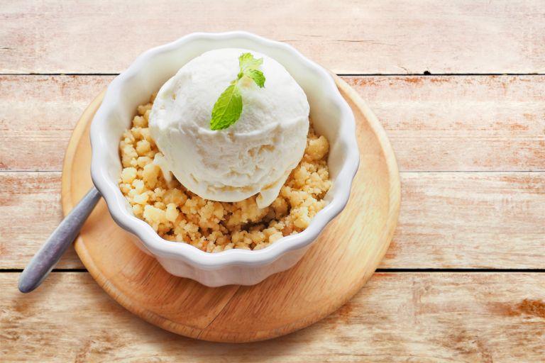 Εύκολο παγωτό με γεύση τσιζκέικ λεμόνι   vita.gr