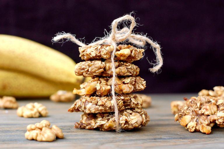 Cookies μπανάνας με δύο υλικά | vita.gr