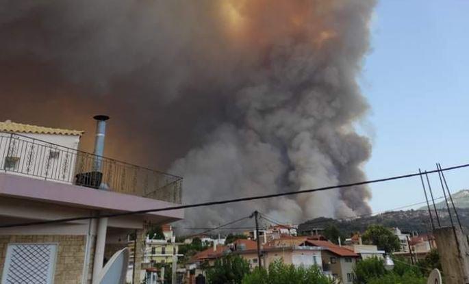 Εκκενώνονται οικισμοί στη Λίμνη Ευβοίας – Ανεξέλεγκτη η πυρκαγιά | vita.gr