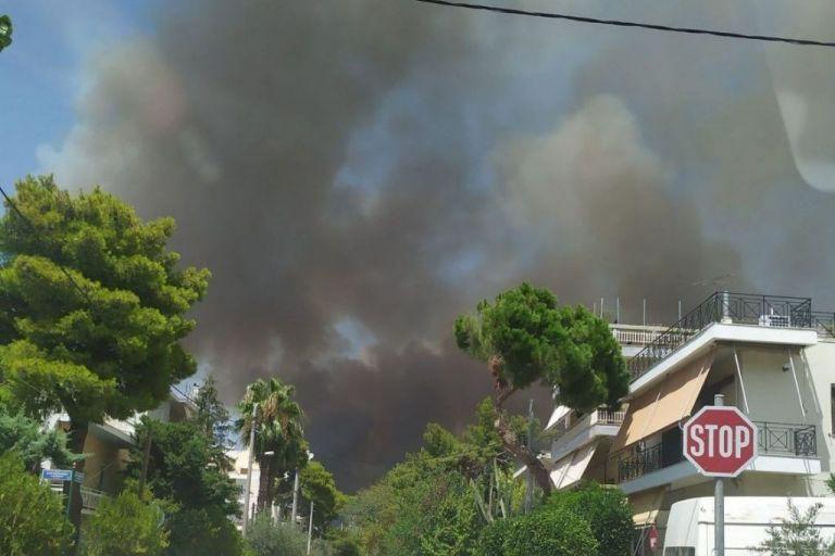 Βαρυμπόμπη – Στις φλόγες μεγάλη δασική έκταση – Εκκενώνονται εργοστάσια   vita.gr