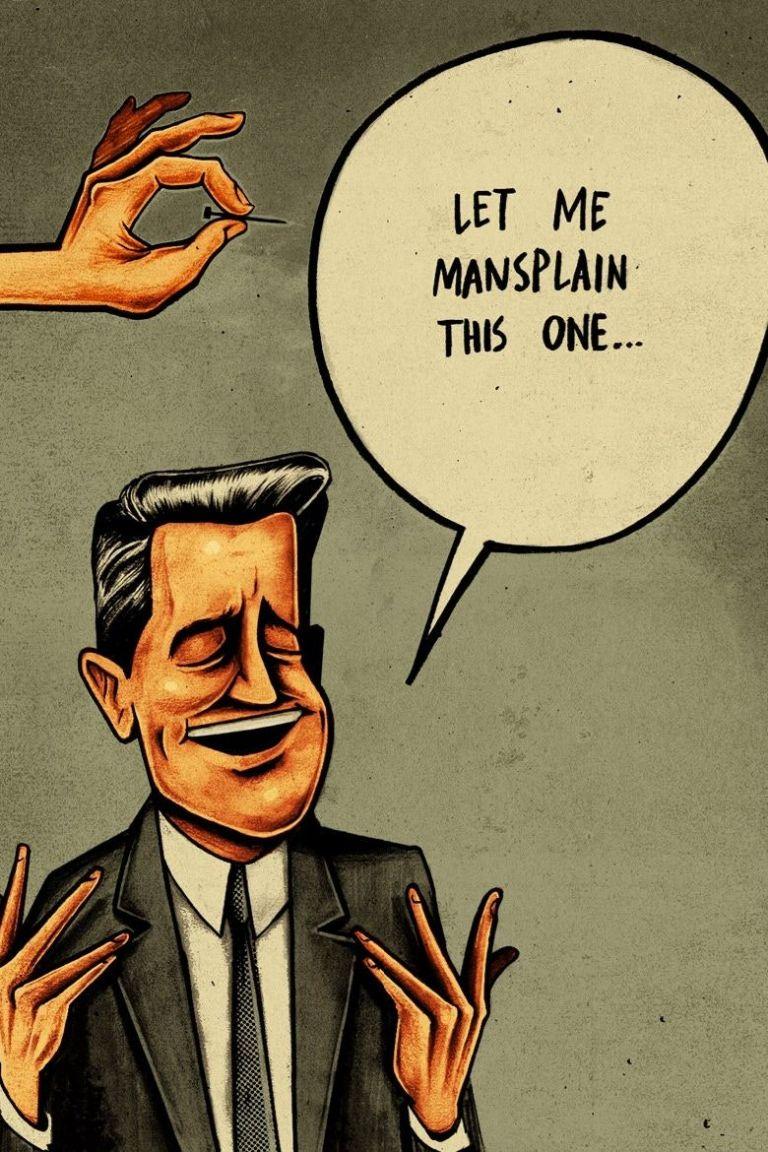 Τι είναι και γιατί εξοργίζει τις γυναίκες το «mansplaining»   vita.gr