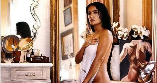 Σάλμα Χάγιεκ – Έκλεισε τα 55 και το γιόρτασε φορώντας μόνο το μαγιό της | vita.gr