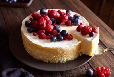 Για το γλυκό – Cheesecake με φρούτα   vita.gr