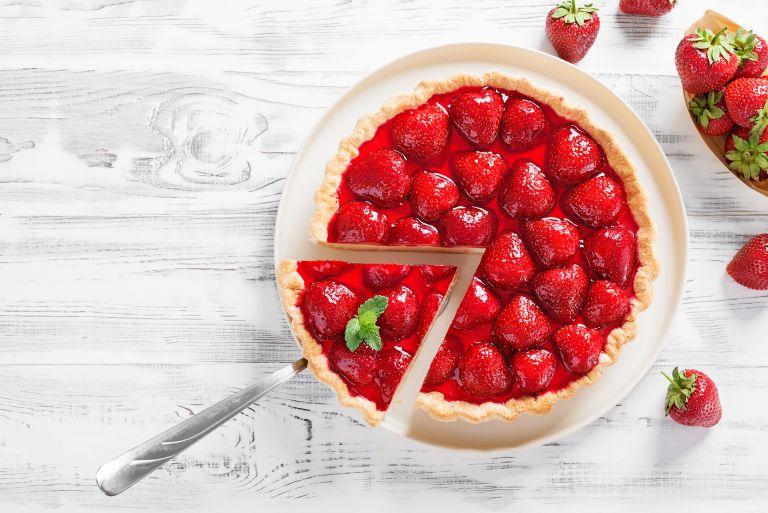 Απολαυστικό τσιζκέικ φράουλας | vita.gr